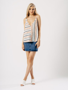 Two Way Stripe Cami Top