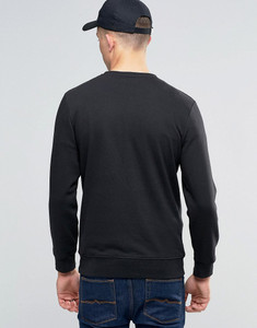 Long Sleeve Crew Neck Ribbed Sweater