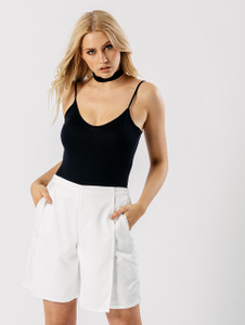 White Luxe Culottes