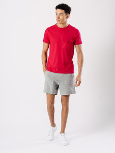 Pink Utility Pocket T Shirt