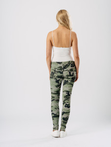 Camouflage Skinny Jeggings