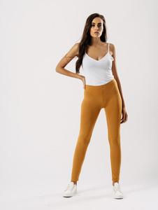 Mustard Jersey leggings
