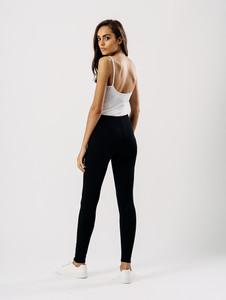 Jersey leggings in Black