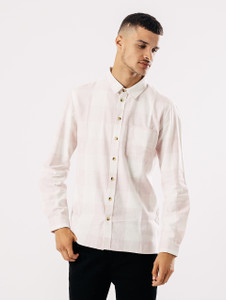 Long Sleeve Brushed Cotton Check Shirt