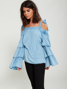 Tiered Sleeve Blouse (RRP £28.00)
