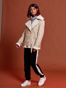 Clay PU Aviator Jacket (RRP £95.00)