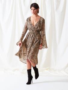 Leopard Wrap Dress (RRP £35.00)