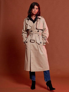 Oversized Canvas Trench Coat (RRP £85.00)