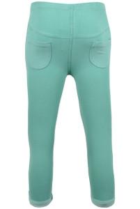 Green Cropped Leggings