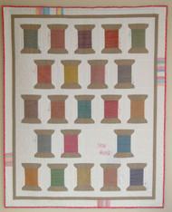 Sew Reel Quilt - full picture