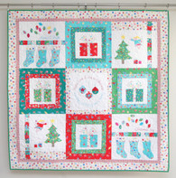 Merry and Bright Quilt PDF PATTERN