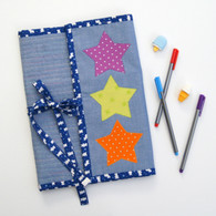 A great Folder to hold all those pens, pencils and colouring or writing books