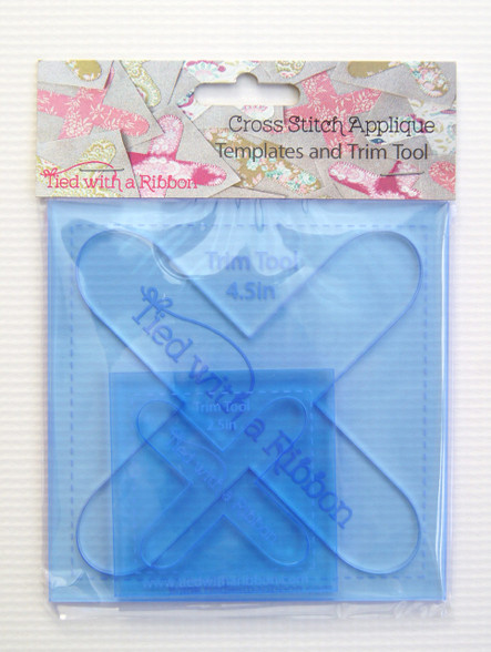 Cross Stitch Appliqué Template and Trim Tool Set