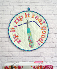 """Rip It Mini Quilt - celebrating the """"not so fun"""" part of sewing"""
