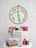 Make this cut Mini Quilt for your own Sewing space