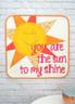 Sunshine Mini Quilt - brighten someone's day with this fun Mini Quilt