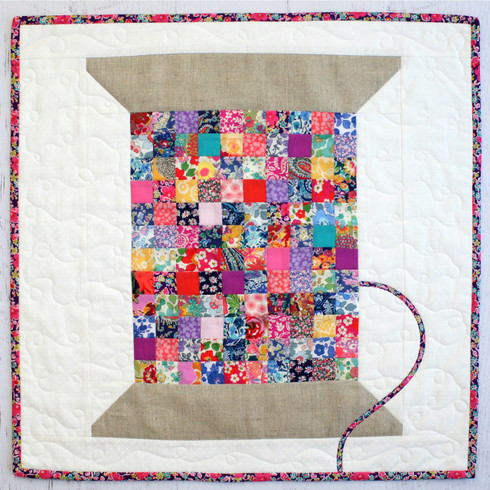 Liberty Vintage Cotton Reel Mini Quilt