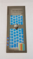Keyboard Cover - Sky Blue (for Macbook Pro and Air)