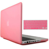 "Macbook Pro 13"" Shell/Keyboard Cover Kit (Clear Pink)"
