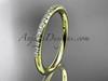 14k yellow gold diamond unique wedding ring,engagement ring, wedding band, stacking ring ADER103B