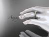 14kt rose gold diamond unique engagement ring, wedding ring ADER134