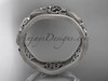 platinum celtic trinity knot wedding band, engagement  ring CT7504GM