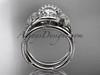 platinum diamond unique engagement set ADLR166S