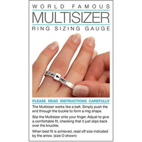 World Famous Multisizer Ring Sizing Gauge