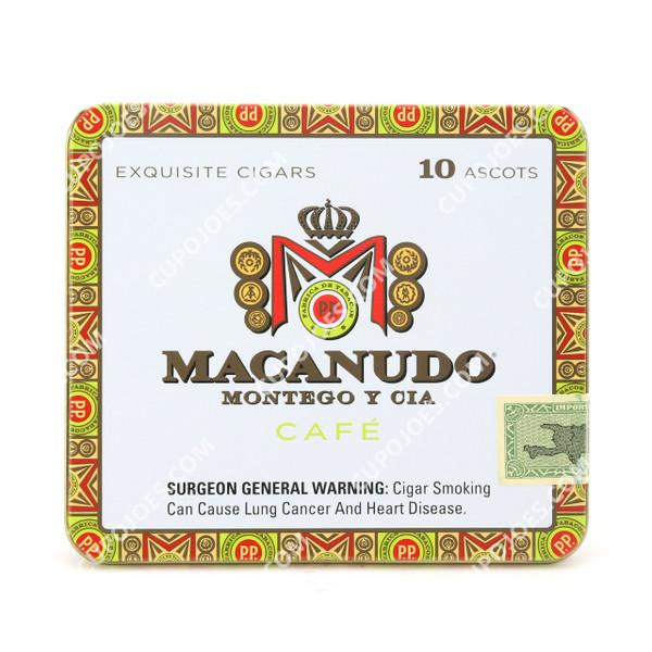 Macanudo Cafe Ascots Tin of 10