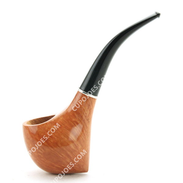 Ser Jacopo L2 Smooth Pipe w/ Silver Band