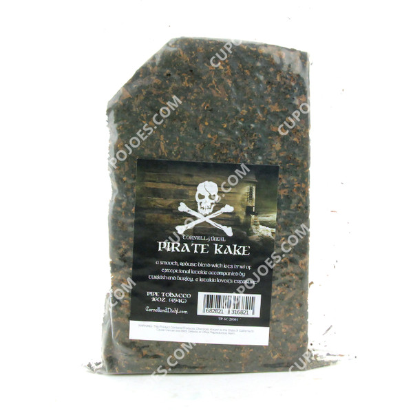 Cornell & Diehl Pirate Kake 16 Oz Bag
