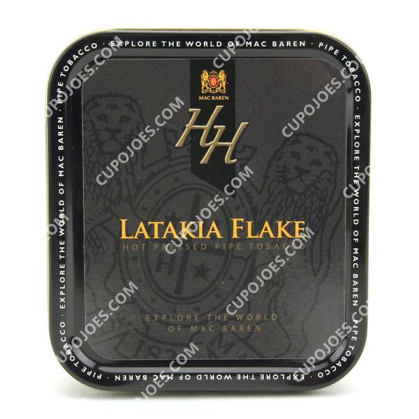 Mac Baren HH Latakia Flake 1.75 Oz Tin
