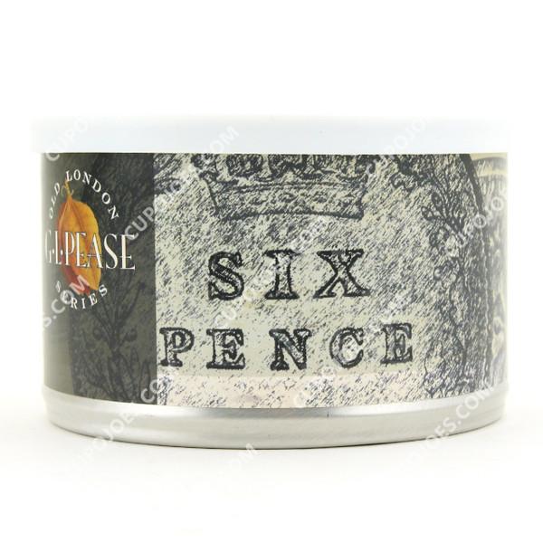 G.L. Pease Six Pence 2 Oz Tin
