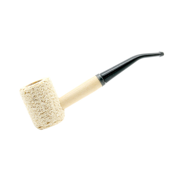 Corn Cob Pipe #591 Missouri Pride Filtered Bent