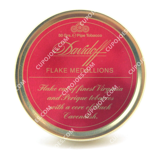 avidoff Flake Medallions 50g Tin