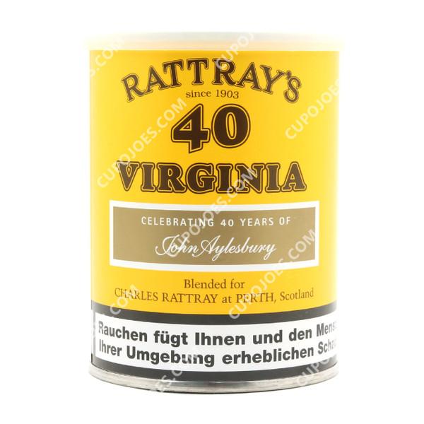 Rattray's 40 Virginia 100g Tin