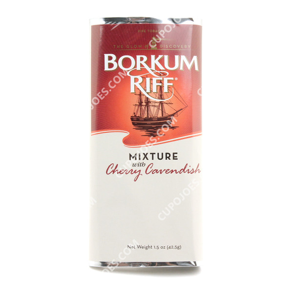 Borkum Riff Mixture Cherry Cavendish 1.5 Oz Pouch
