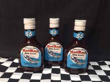 "3 Pack of ""55 Blueberry Hill""  Sweet and Smokey BBQ Sauce"