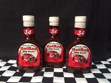 "3 Pack of ""34 the Original""  Sweet and Sassy BBQ Sauce"