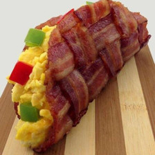 Bacon breakfast Taco- how can that not look good
