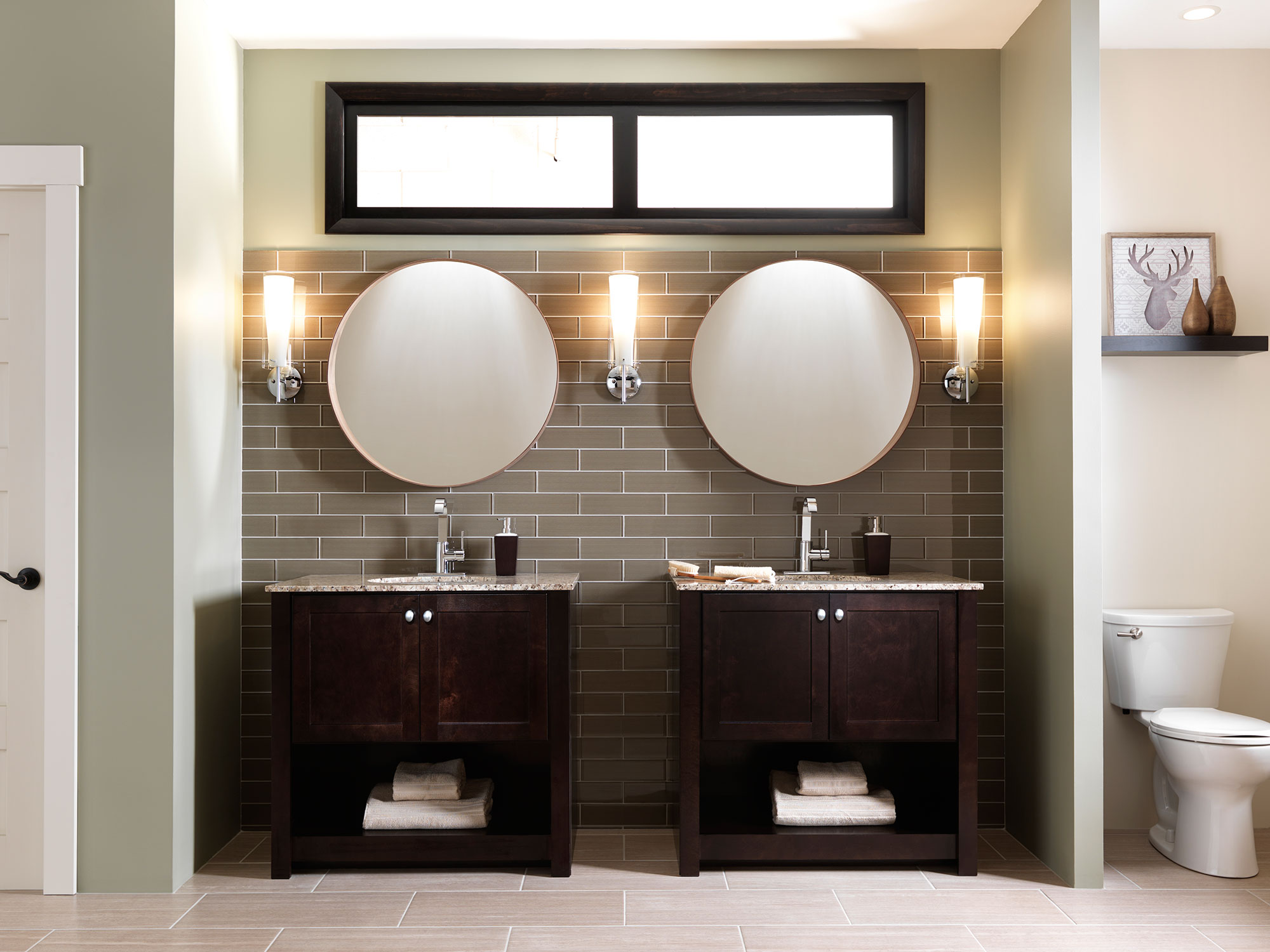 furniture vanity inspiration - cardell cabinetry