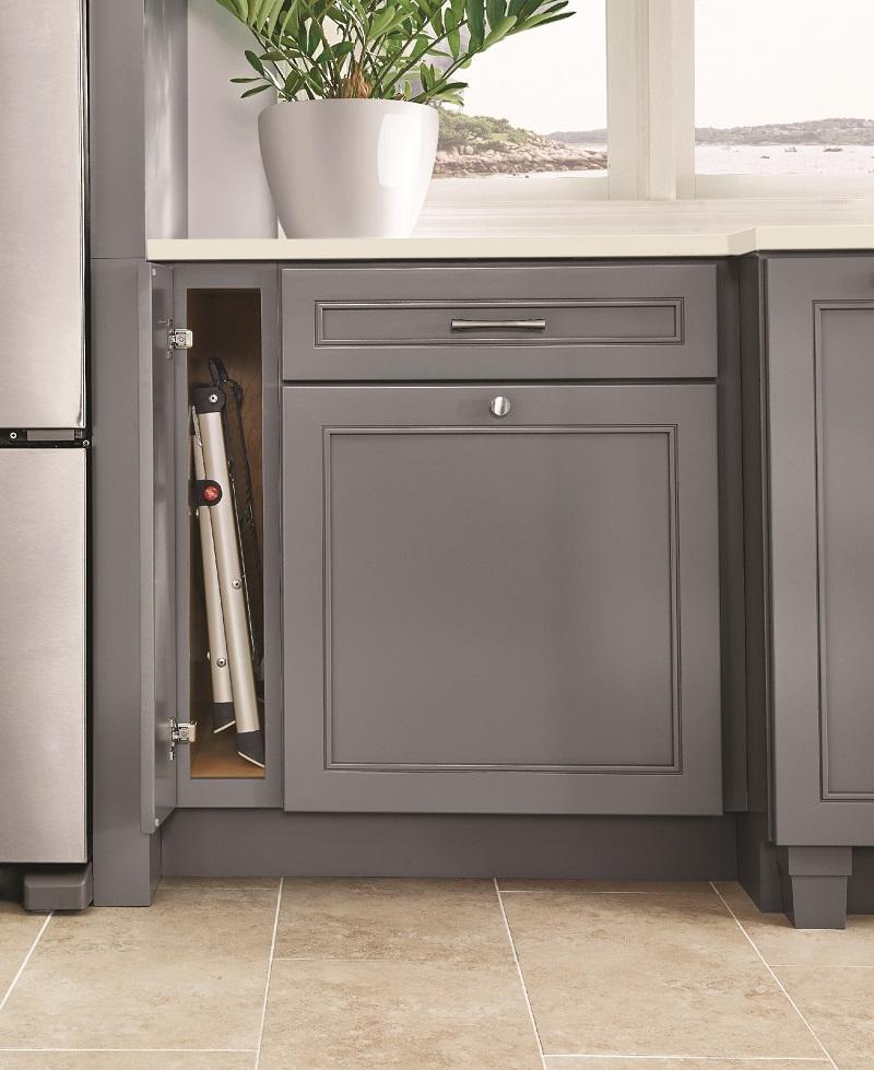 Base Step Stool Cabinet