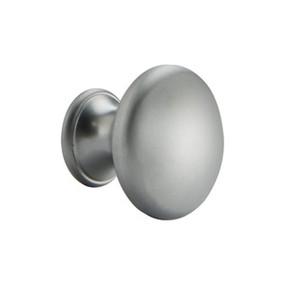 Satin Aluminum Knob