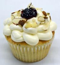 Marionberry Poppyseed Cupcakes