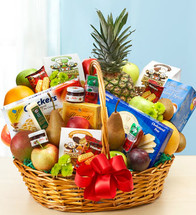 Deluxe Fruit & Gourmet Basket - X-Large 91493XL