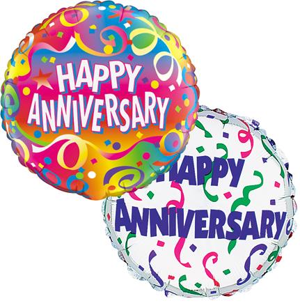 Happy Anniversary Mylar Balloons 2