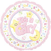New Baby Girl Mylar Balloon (1)