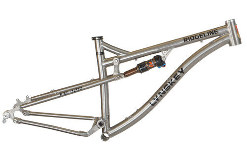 Lynskey titanium Summit 29 FS-120 Full Suspension Mountain Bike ...
