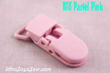 B18 KAM plastic resin dummy clips 2cm Who Says Sew