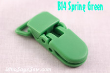 B14 KAM plastic resin dummy clips 2cm Who Says Sew